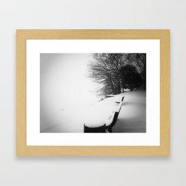 Winter 3 Framed Art Print