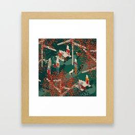 Habitat 19 Framed Art Print