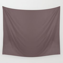 AMAZON SOIL Brown solid color Wall Tapestry