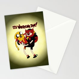 It's Wrestling Time!  Stationery Cards