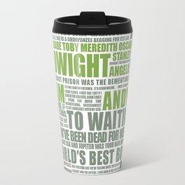 The Office Green Travel Mug