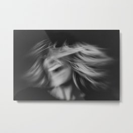 SelfPortrait BW Metal Print
