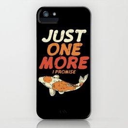 Japanese Koi Shirt exotic pond carp gift iPhone Case