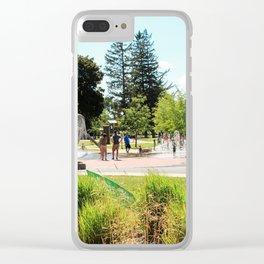 Splash Pad in Traverse City, Michigan Clear iPhone Case
