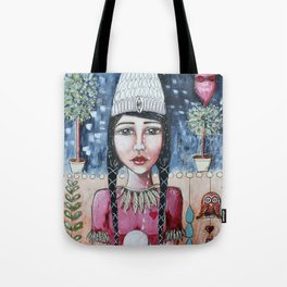 Profit Over Humanity Tote Bag