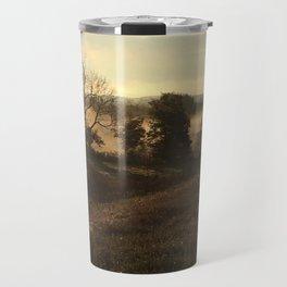 Drives through the countryside Travel Mug