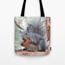 Squirrel Snack Tote Bag