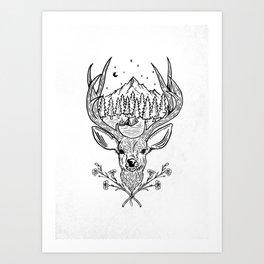 Camping Life Art Print