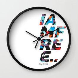 I am free Wall Clock