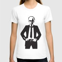 karl T-shirts featuring Karl Lagerfeld by Joanna Theresa Heart