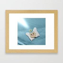 Saint Cotton Framed Art Print