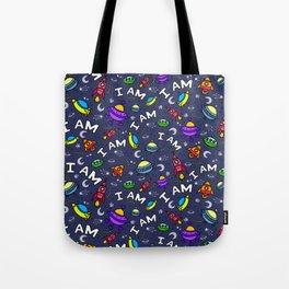 I Am Spaceless Tote Bag