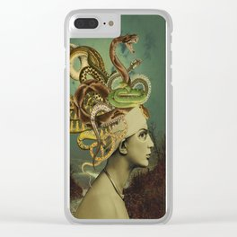 ANOTHER BAD HAIR DAY Clear iPhone Case