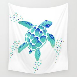 Neptune's Turtle Wall Tapestry