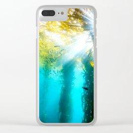 Under Da Sea Clear iPhone Case