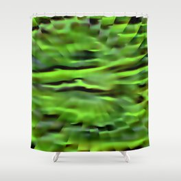 Dream of green future ... Shower Curtain