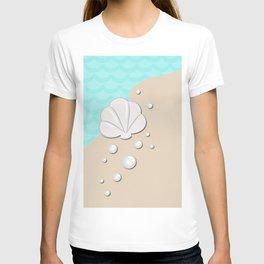 Seashell by the Seashore T-shirt