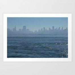San Francisco View I Art Print