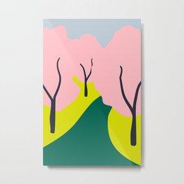 Spring Blooms Everywhere  Metal Print