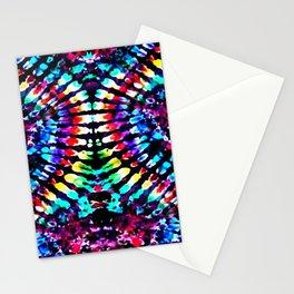 Tie Dye Hour Glass Stationery Cards