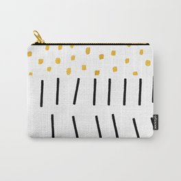 SPOTS & STRIPES Carry-All Pouch