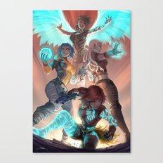 Phase Canvas Print