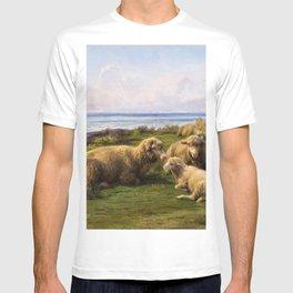 12,000pixel-500dpi - Rosa Bonheur - Sheep By The Sea - Digital Remastered Edition T-shirt