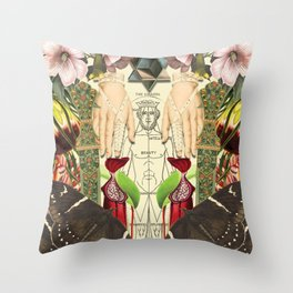No judging Throw Pillow