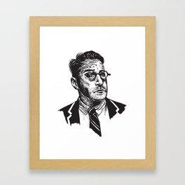 Icon: Chip Kidd Framed Art Print