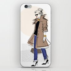 Trench iPhone & iPod Skin