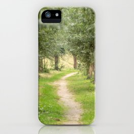 Willow Lane II iPhone Case