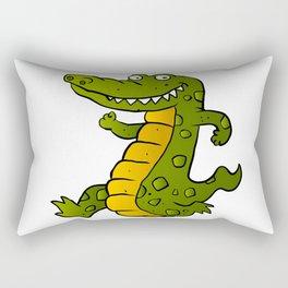 Cartoon crocodile Rectangular Pillow