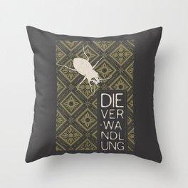 Books Collection: Kafka, The Metamorphosis Throw Pillow
