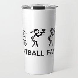Paintball Family Gift Travel Mug