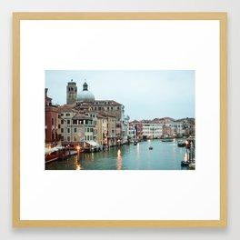 Venice at Dusk Framed Art Print