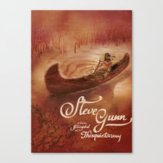 Steve Gunn + Thisquietarmy Canvas Print