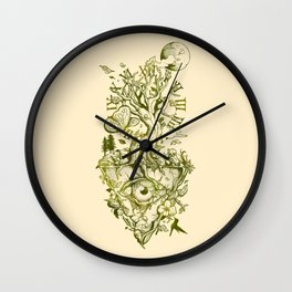 A Glimpse in Time Wall Clock