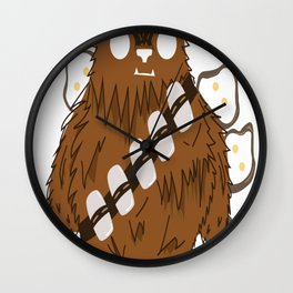 Chewbacca _ Friends Wall Clock