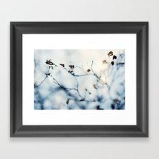 Winter Breaks 4 Framed Art Print
