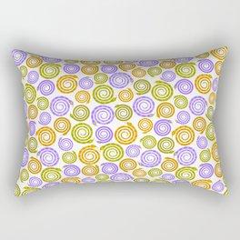 Mesmerizing snakes Rectangular Pillow