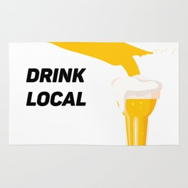 Tennessee Drinking Team Beer Lovers Drink Local Rug