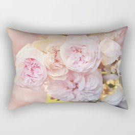 The Last Days of Spring - Old Roses II Rectangular Pillow