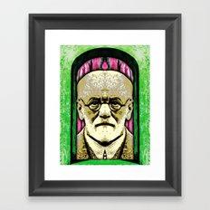 SUPER-EGO Framed Art Print