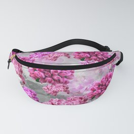 ORCHIDS ROSES AND MAGNOLIAS PINK Fanny Pack