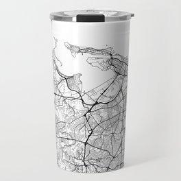 San Juan Map White Travel Mug
