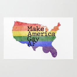 Make America GAY AF! Rug