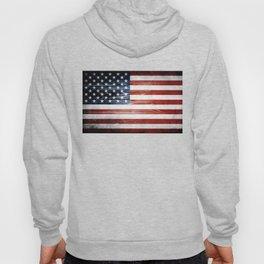 American Wooden Flag Hoody