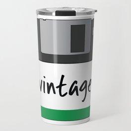 Vintage Floppy Disk Travel Mug