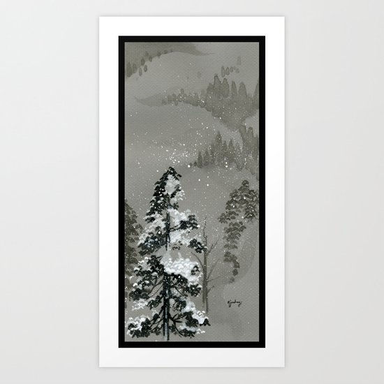 Duck Mountain Art Print