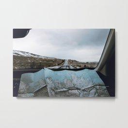 Road Trip IX / Iceland Metal Print